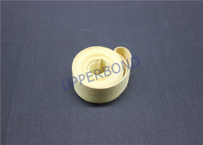 Aramid Garniture Tape Tobacco Machinery Spare Parts With Surface Coat