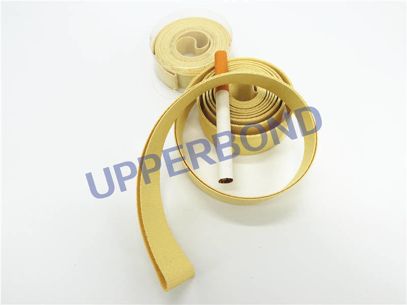 Kevlar Adhesive Tape Full Coated Garniture Tape With Coefficient Of Friction